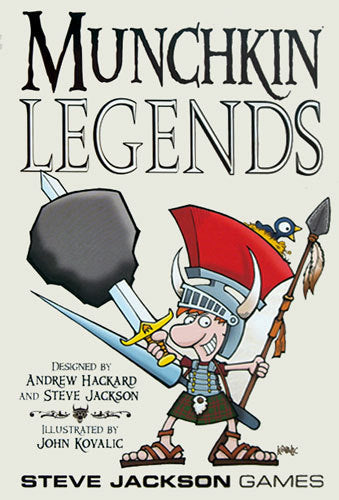 Munchkin Legends - The Board Gamer