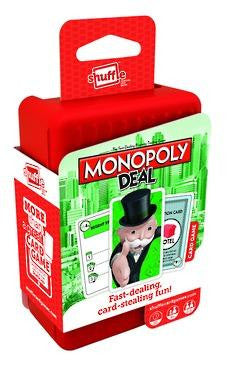 Shuffle Monopoly Deal - The Board Gamer