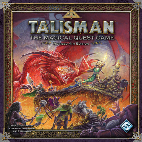 Talisman : 4th Edition - Board Game
