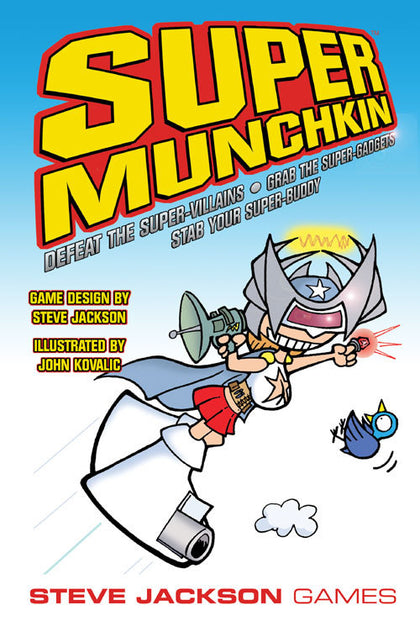 Super Munchkin - The Board Gamer