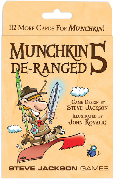 Munchkin 5: De-Ranged Expansion - The Board Gamer
