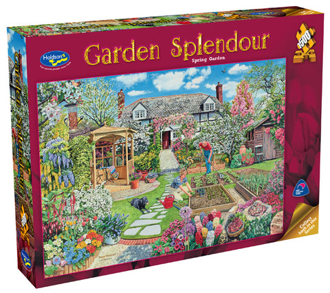 Garden Splendor 1500pc - Spring Garden - The Board Gamer