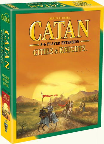 Catan: Cities & Knights 5-6 Player Extension 5th Edition - The Board Gamer