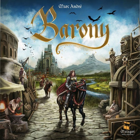 Barony - The Board Gamer