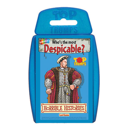 Top Trumps - Horrible Histories - The Board Gamer
