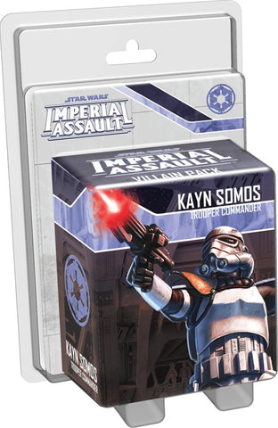 Star Wars: Imperial Assault: Kayn Somos Villain Pack