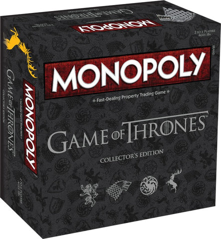 Monopoly - Game of Thrones Edition - The Board Gamer