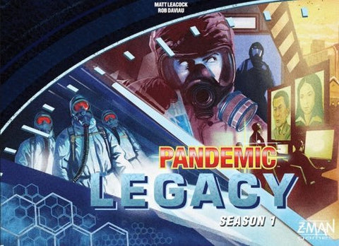 Pandemic Legacy: Blue Box - The Board Gamer