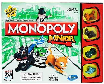 Monopoly - Junior - The Board Gamer