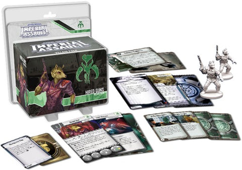Star Wars: Imperial Assault: Hired Guns Villain Pack