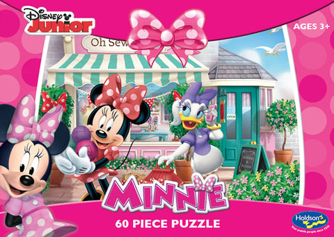 Holdson: Minnie Mouse 60pc Boxed Puzzle - Oh Sew Sweet - The Board Gamer