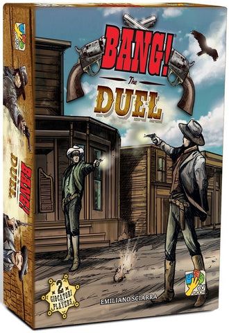 Bang: The Duel - Card Game - The Board Gamer