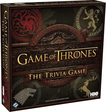 Game of Thrones: The Trivia Game - The Board Gamer