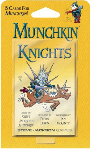 Munchkin: Knights - Game Expansion - The Board Gamer