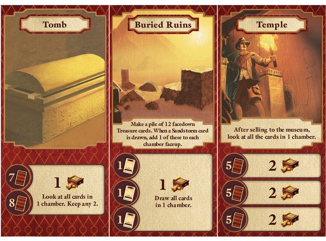 Archaeology: A New Expedition - Card Game