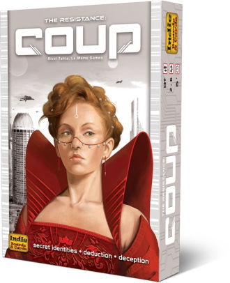 Resistance: Coup - The Board Gamer