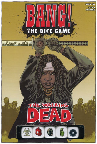 Bang! The Dice Game - The Walking Dead - The Board Gamer