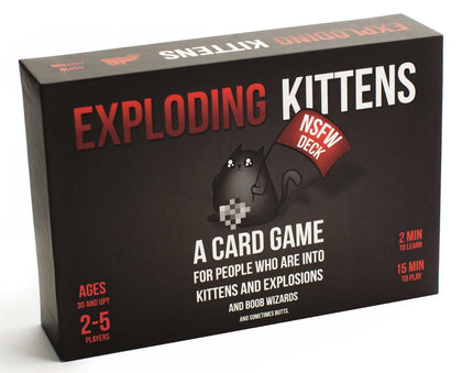 Exploding Kittens - NSFW Edition