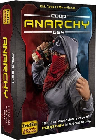 Coup Rebellion G54: Anarchy - Expansion Pack - The Board Gamer