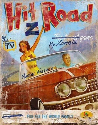 Hit Z Road - Board Game - The Board Gamer