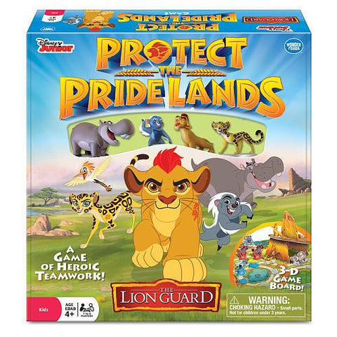 Protect the Pridelands Game - The Board Gamer