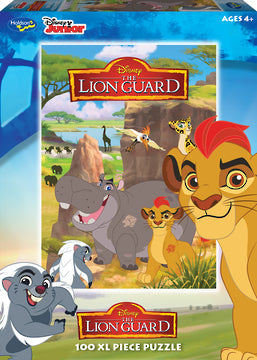 Holdson: Lion Guard - 100 Piece XL Puzzle - The Board Gamer