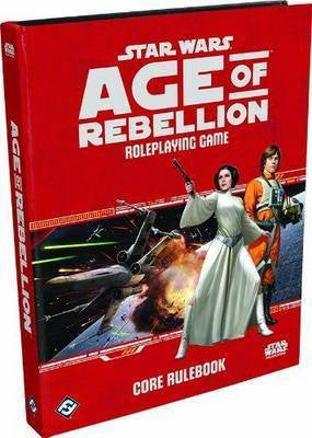 Star Wars: Age of Rebellion RPG Core Rulebook - The Board Gamer