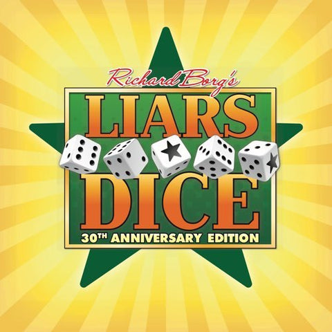 Liars Dice: 30th Anniversary Edition - The Board Gamer
