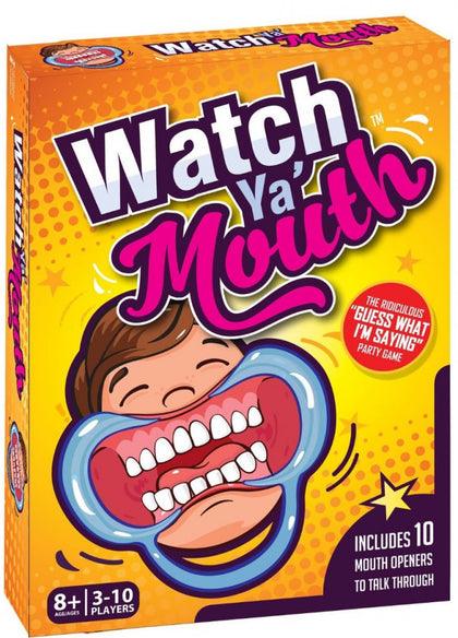 Watch Ya Mouth - The Board Gamer