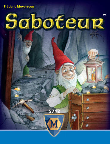 Saboteur - Party Card Game - The Board Gamer