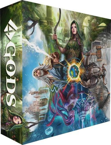 4 Gods - Board Game