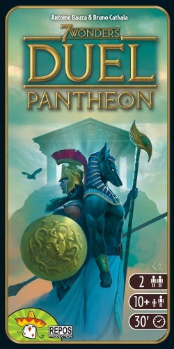 7 Wonders Duel: Pantheon - Game Expansion - The Board Gamer