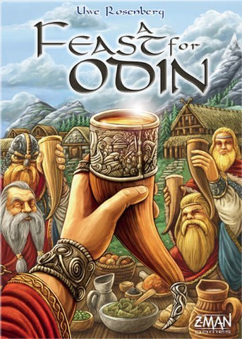 A Feast for Odin - Board Game - The Board Gamer