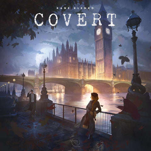 Covert - Board Game - The Board Gamer