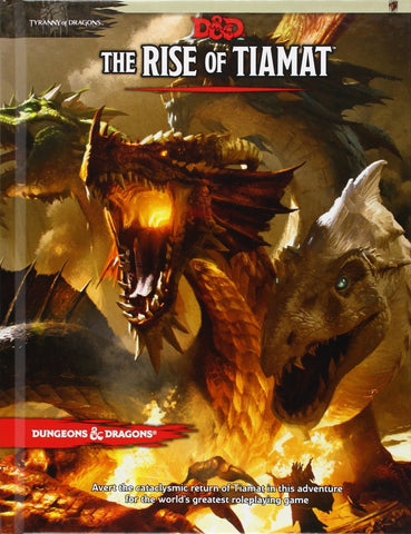 Tyranny of Dragons: Rise of Tiamat