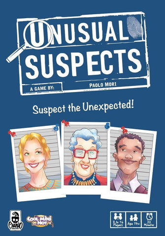 Unusual Suspects - Card Game - The Board Gamer