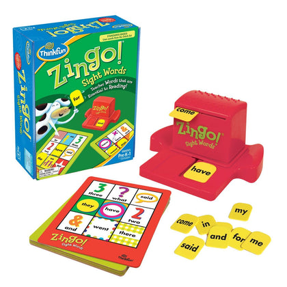 Thinkfun - Zingo Sight Words - The Board Gamer