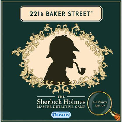 Holdson: 221b Baker Street Game - The Board Gamer