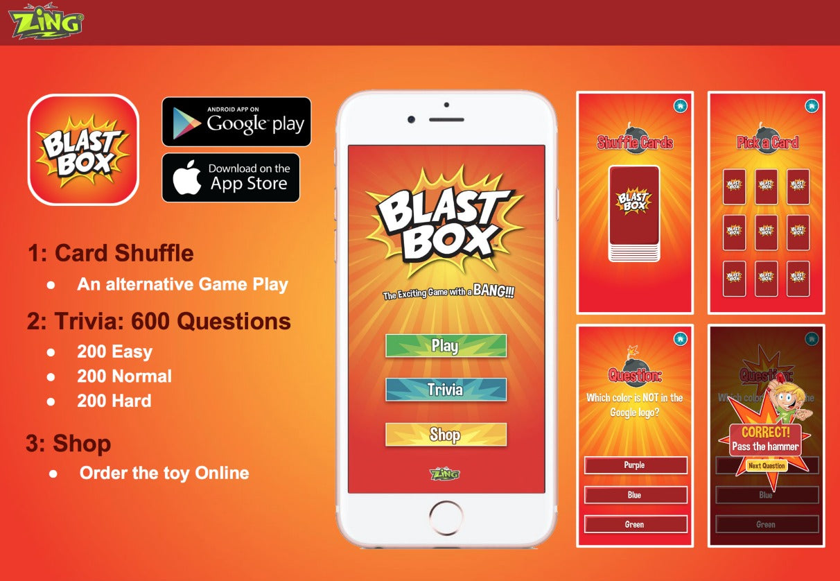 Blast Box: Balloon Explosion Game