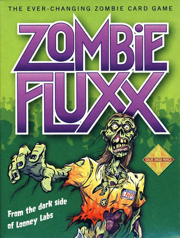 Zombie Fluxx - Card Game