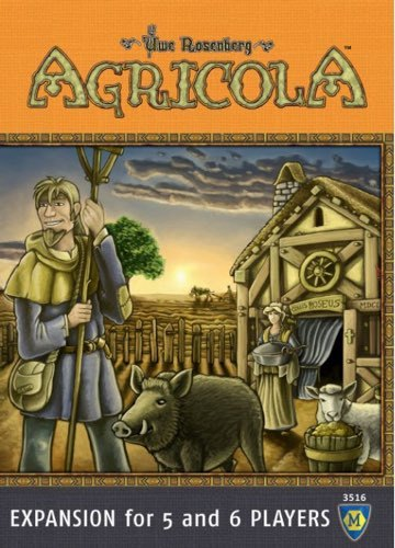 Agricola: 5-6 Player - Expansion Pack - The Board Gamer