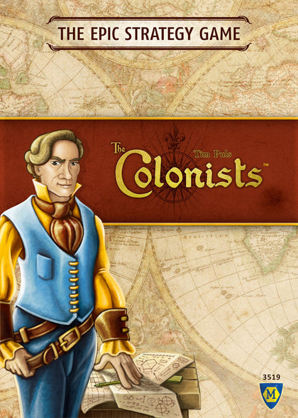 The Colonists (Board Game) - The Board Gamer