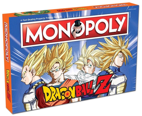 Monopoly: Dragon Ball Z Edition - The Board Gamer