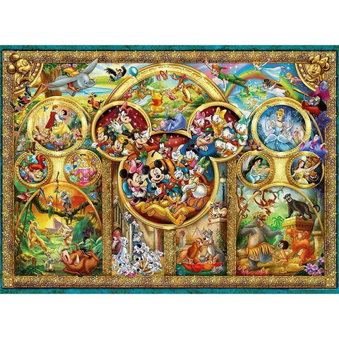 Ravensburger: Disney Family - 500pc Puzzle - The Board Gamer