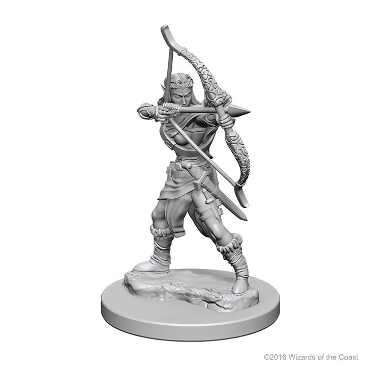 D&D Nolzur's Marvelous: Unpainted Minis - Elf Female Ranger
