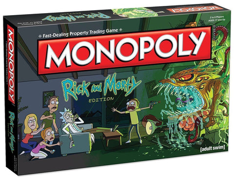 Monopoly: Rick and Morty Edition - The Board Gamer