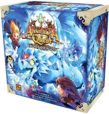 Arcadia Quest: Frost Dragon - Expansion Set - The Board Gamer