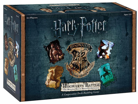 Harry Potter: Hogwarts Battle - The Monster Box of Monsters Expansion - The Board Gamer