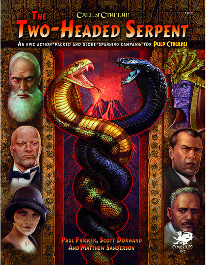Call of Cthulhu RPG The Two Headed Serpent - The Board Gamer