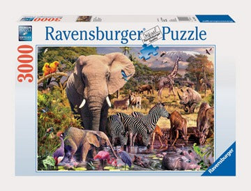 Ravensburger 3000pc Puzzle - African Animals